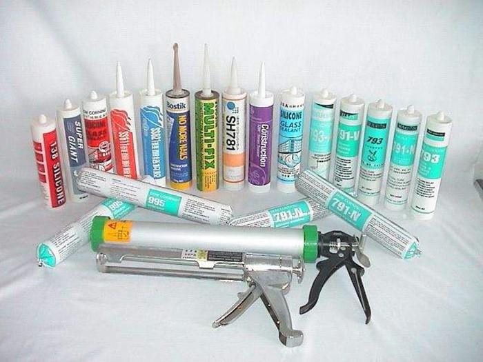 各种规格种类的玻璃胶/硅酮胶