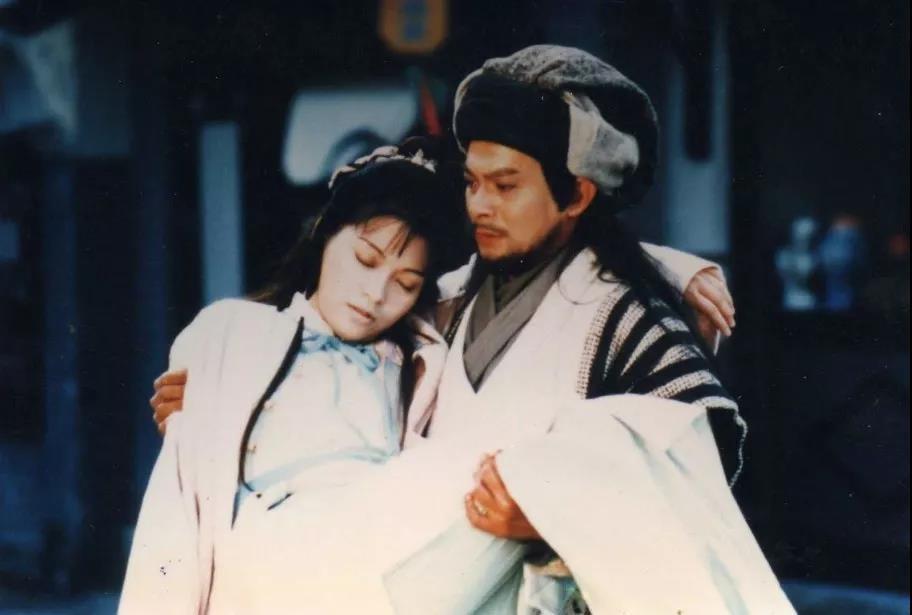 《天龙八部》剧中的乔峰和阿紫