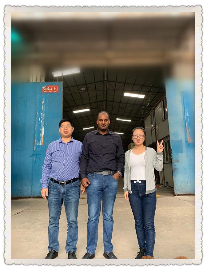 埃塞俄比亚客户采购金昶泰油漆生产设备