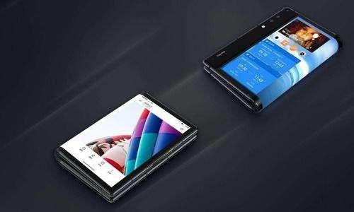 華為5G折疊手機